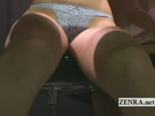 controleren japanse kanaal, plezier striptease thumbnail, heet exotisch scène