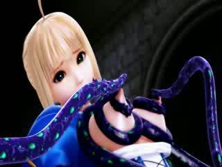 3d tecknad utlänning tentacle