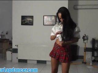 Amazing Lapdance In Hot School Outfit