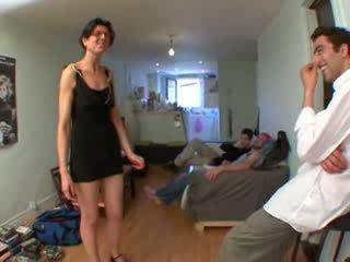 Seks simultan për petra, bashkëshort duke parë