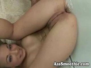 Jamie elle drinks hintern smoothie