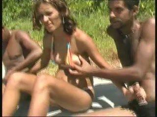 巴西人 孕 妓女 钢棒