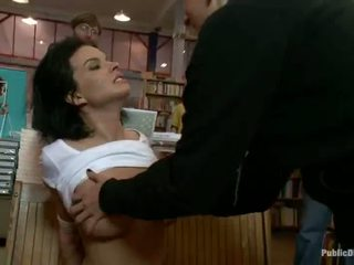 Bailey Brooks Has Spanked And Made Love In A Public Library