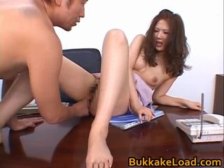 Aya matsuki มีอารมณ์ เอเชีย ตุ๊กตา enjoys hawt เพศ