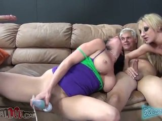 Tory helps amy suck cock