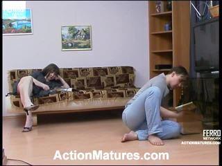 Elinor 과 morris 성적 노인들 비디오