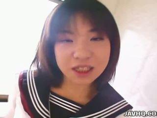 real japonisht nominal, ndonjë schoolgirls, ju aziatik