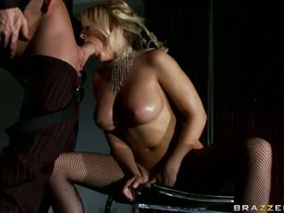 Immodest Madison Ivy Likes Her Beau's Pulsating Cock Gliding Between Her Tits