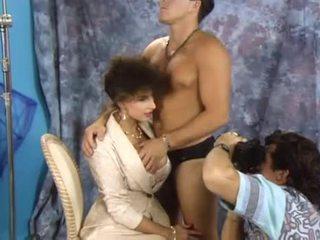 alle brunette vid, nominale orale seks klem, controleren dubbele penetratie