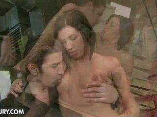heetste brunette scène, tiener sex film, plezier hardcore sex