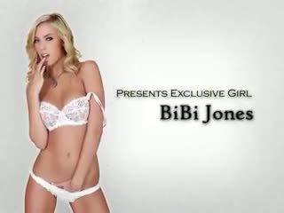 HOT blonde girlfriend Bibi Jones is stripped & banged by her BF