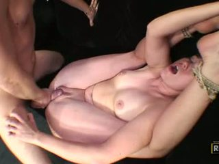 After A Flexible Fucking, Tatum Bailey Gets A Big Rod Wanked Over Her FAce
