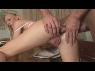 Gitta Blond Recieves A Fresh Jizz On Her Mouth After Getting Drilled On Her A Gap