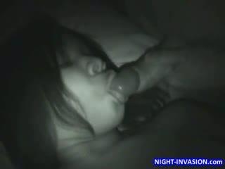 big Boob ebony Sleep 3some