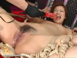 mooi gang bang neuken, fucking machines scène, bondage sex mov