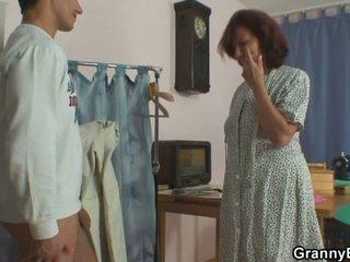 A customer drills luma sewing
