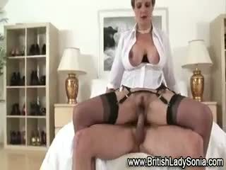 Video! Big Lady sonia free hand job clips real cum