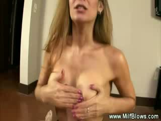 Hungry brunette Blow Job then russian and spunk shot