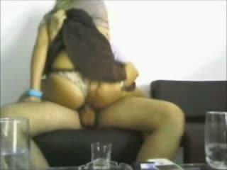 Hot ass latina rides on hidden