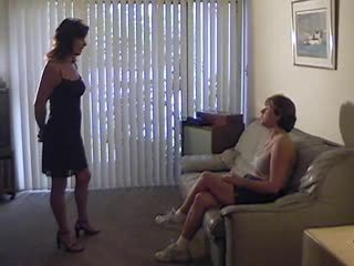 lesbiennes, femdom neuken, u spanking porno
