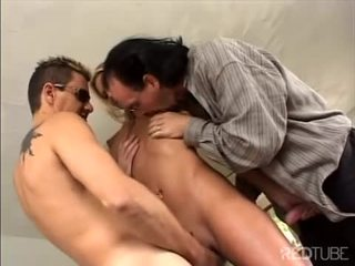 Ashley satisfies four dicks