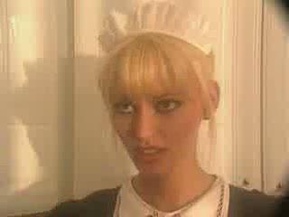 Anita blond als een meid