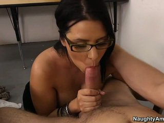 see brunette fucking, ideal glasses thumbnail, hq office clip