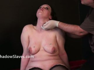 Scared Dabbler Slavegirls Needle Sadism And X Rated Plumpy Piercing Pain Of Crying English Emma Punished