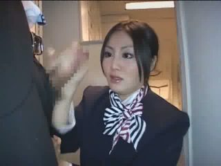 new japanese new, stewardess nice