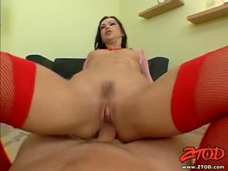 Adorable Sweetheart Angelina Crow Gets A Creamy Spray Of Jizz On Her Mouth