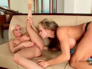 Hot Scorching Nikki Sexxx Bangs Her Friend With Her Strap On Like A Real Cock