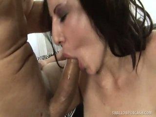 brunette, check blow job clip, hard fuck channel
