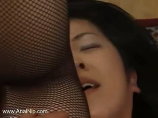 Extremely Hairy Japanese Girl Ass Fuck