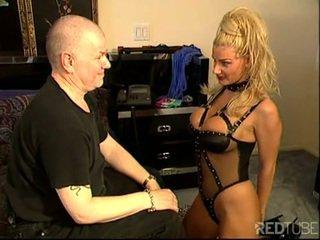 Brittany Andrews blond big tits slave
