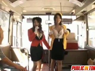아가씨 rino asuka 과 ringo kurenai 빨다 형사 에 a 버스