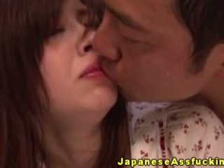 Japonesa madura gets culo ravaged