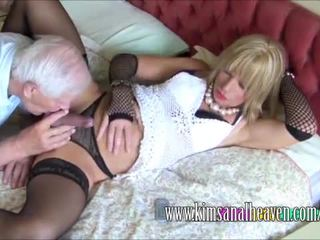 real crossdresser, best blowjob, lingerie clip