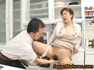 Hitomi kurosaki matang warga asia perempuan part1