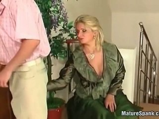 Aged Young Woman Feeling Sensuous