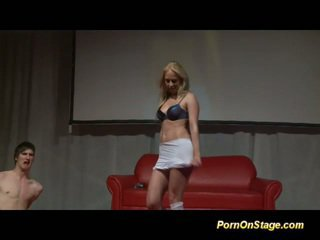 quality blondes scene, all striptease fuck, dance video