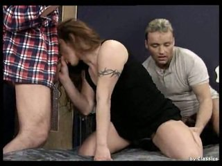 Hairy pregnant lesbians and german threesome.