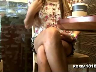voyeur, massage, koreanisch