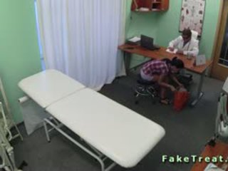 Nurse And Doctor Fucking Sexy Patient In Fake Hospital