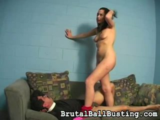 Mix Of By Brutal Ball Busting