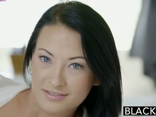 Blacked ado beauty tries interracial anal sexe