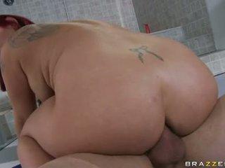 een hardcore sex vid, nominale cumshots, u grote lul film
