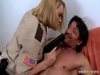 Large Titted Lady Sheriff Krissy Lynn Getting Nailed