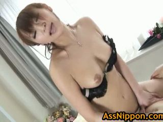 Young Asian Model First Time Anal