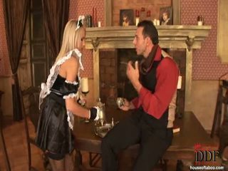 Britney Spring Receives Spanked