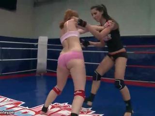 Hot girls wrestling